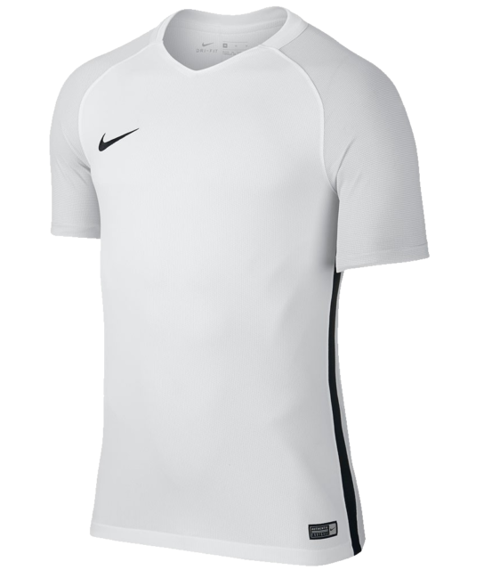 New Nike Revolution IV Soccer Jersey Men s Medium White Grey Shirt 833017   40 4eff41c45