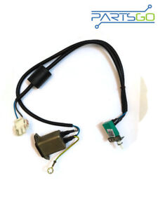 Details about C3195-60149 AC wiring harness includes power switch AC on