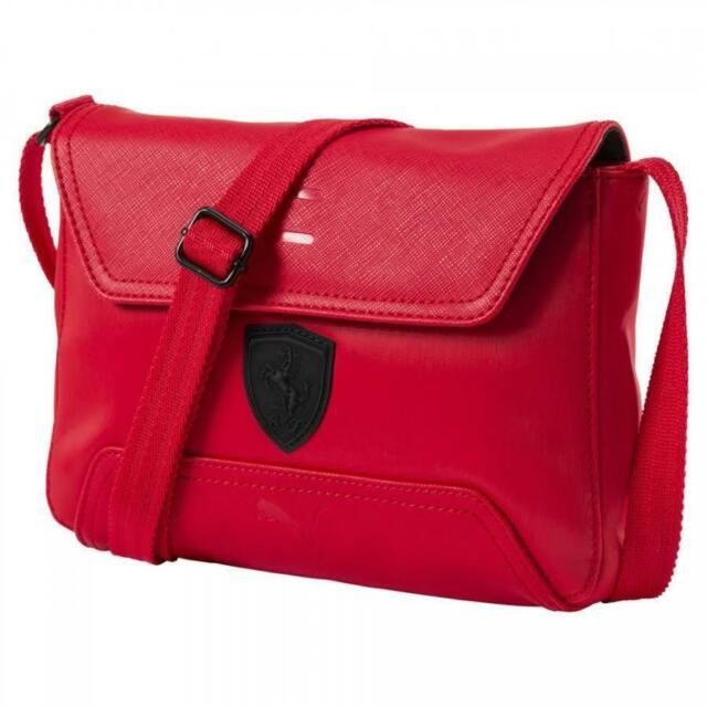 67cd82bcfd PUMA Scuderia Ferrari LS Women Red Handbag Small Satchel 074845. About this  product. Picture 1 of 4  Picture 2 of 4  Picture 3 of 4  Picture 4 of 4.  Picture ...
