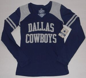 Dallas Cowboys Authentic Apparel Womens Long Sleeve T Shirt S M L Xl