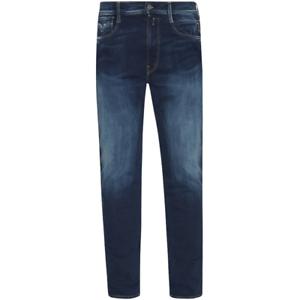 Jeans Kleidung & Accessoires Replay Anbass Hyperflex Slim Fit Blue Edition Jeans Rrp£175 Festsetzung Der Preise Nach ProduktqualitäT