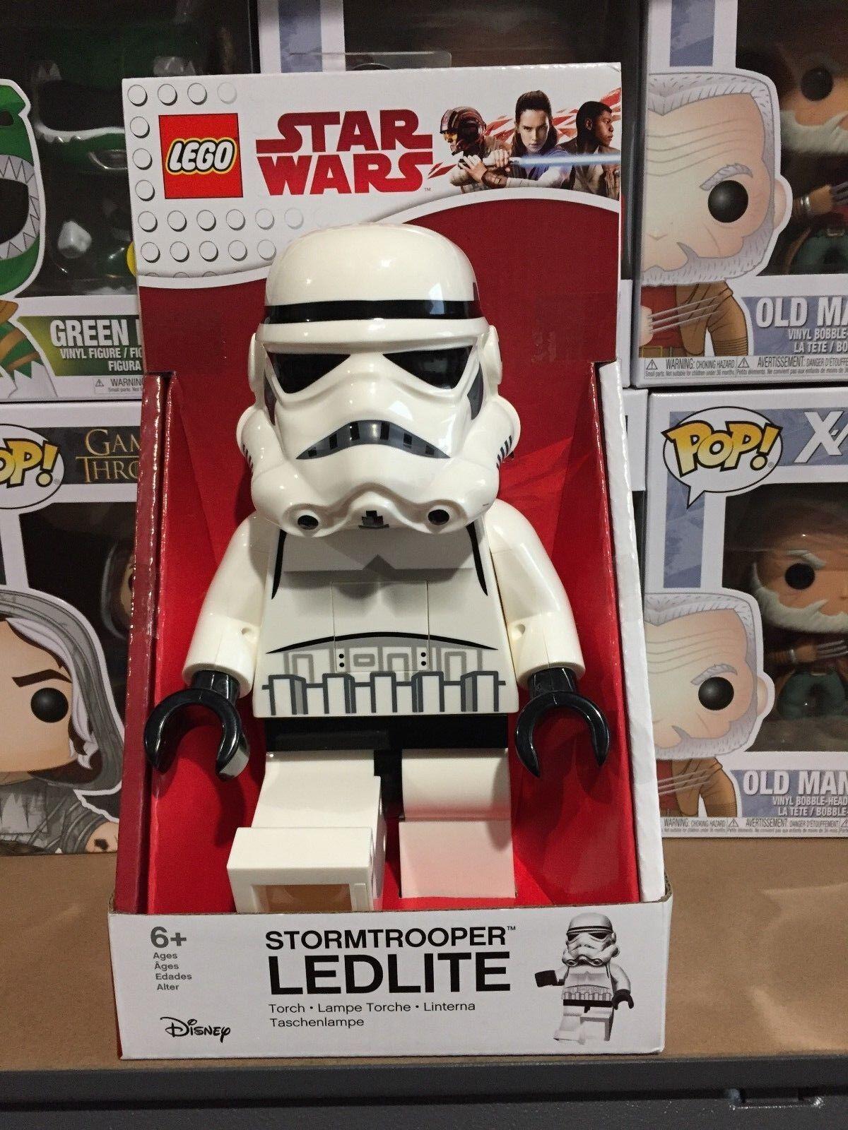 Lego Star Wars Wars Wars - Storm Trooper  LED Lite - AU 9221bc