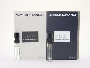 Image is loading Costume-National-Scent-&-Scent-Intense-Vial-S&le- & Costume National Scent u0026 Scent Intense Vial Sample EDP 2 x 15ml ...
