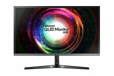 "Samsung U28H750 28"" QLED Gaming Monitor 1MS UHD 4K 3840x2160 HDMI DP FreeSync"