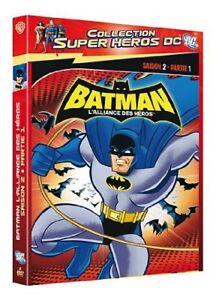 Batman-L-039-alliance-des-heros-Saison-2-Partie-1-DVD-NEUF