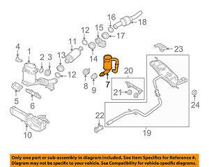 vw volkswagen oem 09 14 jetta 2 0l l4 exhaust manifold tubeimage is loading vw volkswagen oem 09 14 jetta 2 0l
