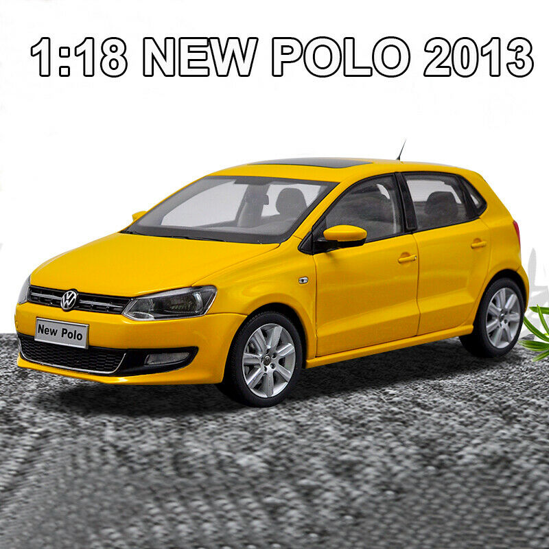 1 18 ORIGINAL Volkswagen NEW POLO 2013 Diecast Model Car Collection New In Box