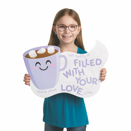 God/'S Love Keeps Me Warm Bulletin Board Set 74 Pieces Educational