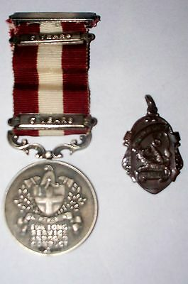 British London Private Fire Brigade Assoc. Silver Medal Fire Force Prize Medal