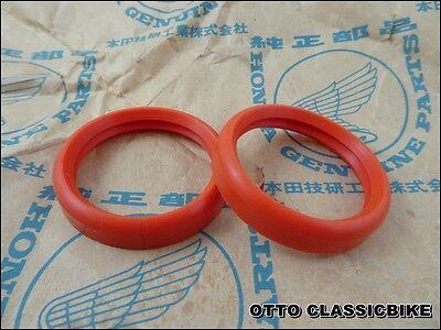 HONDA CB72 CB77 CA72 CA77 GASKET MUFFLER Reproduction  / 2 pcs
