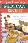 Quick & Easy Mexican Recipes by Susan K Bollin (Paperback / softback, 2003)