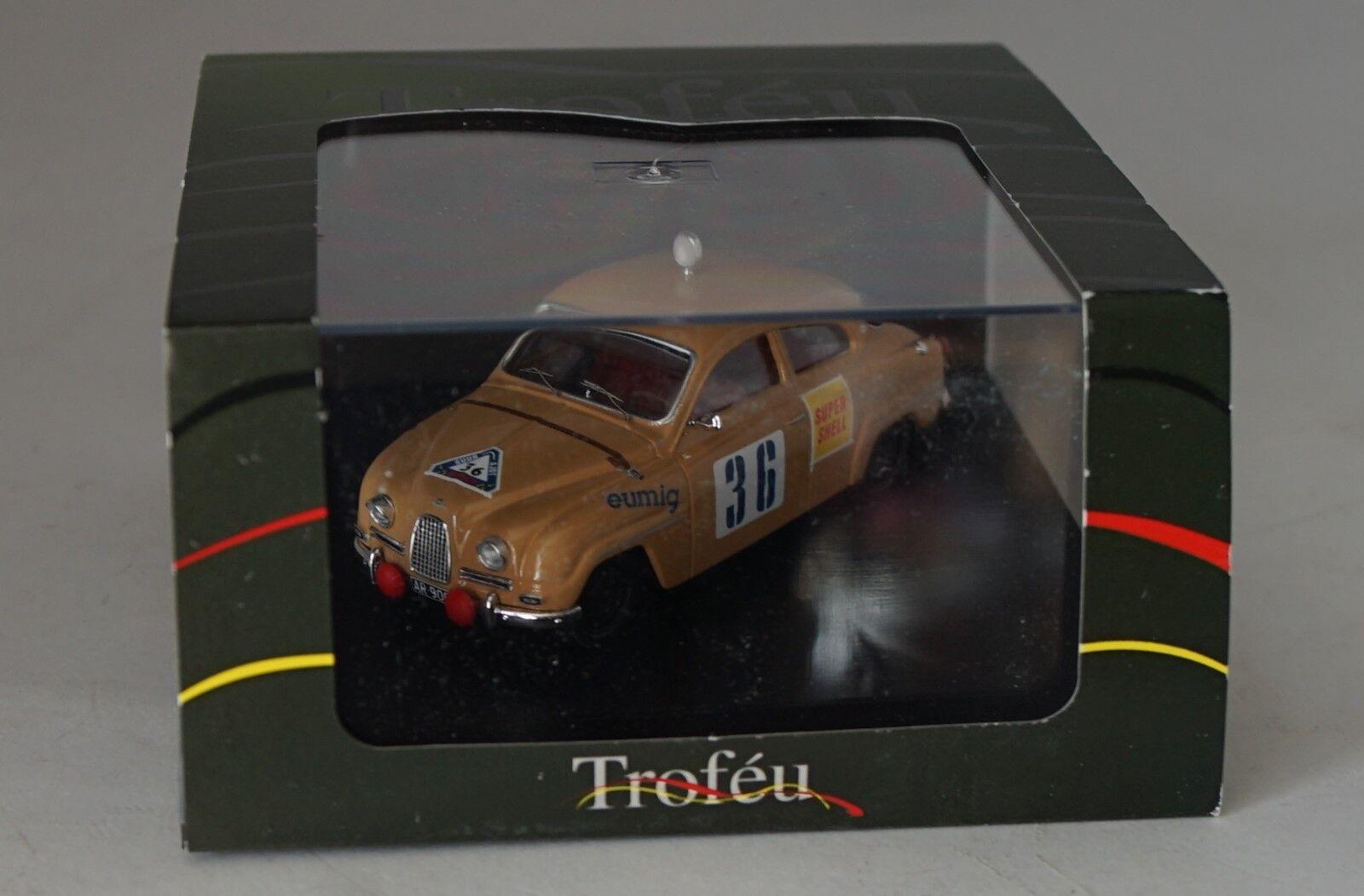 Trofeu 1513 Saab 96  36 Winner 1000 Lacs 1960 - Carl-Otto, Bremer 1 43 Échelle