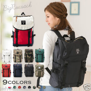 9c3bc6a184 Image is loading ANELLO-Japan-Large-Volume-Flap-Backpack-Campus-Rucksack-