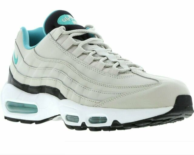 Original Mens Nike Air Max 95 Essential Trainers Obsidian Blue Grey Yellow Red