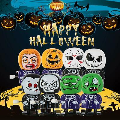 TOYMYTOY Halloween Wind-up Toys Assorted Clockwork Toys for Halloween Party Supplies for Kids,12 Pieces