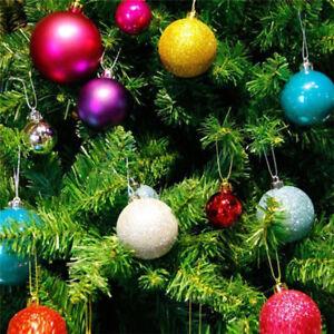 Ornamenti-dell-039-albero-di-Natale-24X-6cm-Palla-regalo-per-decorazioni-sosp-IE