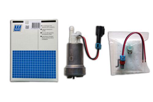460 LPH E85 OK in tank hi pressure Universal fuel pump /& fit kit Genuine WALBRO