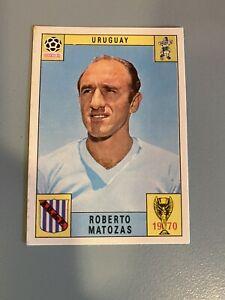 PANINI CARD WORLD CUP MEXICO 70 (1970) ROBERTO MATOZAS-URUGUAY-Unused