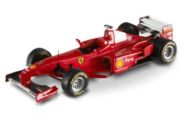 HOT WHEELS ELITE N5587 - FERRARI F300 - SCHUMACHER BRITISH GP 1998  1 43