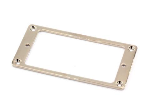 Metal Flat Humbucker Pickup Mounting Ring Nickel plated Typ2