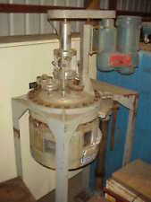 5 Gallon 316 Stainless Steel Jacketed Reactor Rated 150 Psi 350 Degf