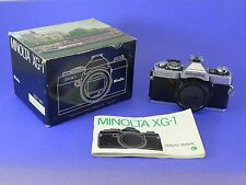 Minolta GX-1 vintage film camera, in box