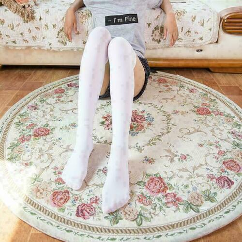 Girl Knit Long Cable School Women Thigh Boot Knee High Over Extra Socks Stocking