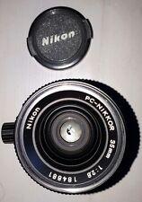Nikon pc-nikkor 35mm f1:2.8 objectif à décentrement