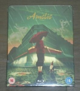 Amelie - Steelbook - blu-ray. New & sealed, UK release.