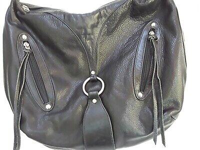 Sherry Wolf Handbag Soft Black Leather
