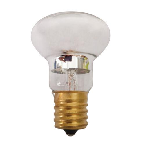 120V Spotlight Light Bulb Lava Lamp Reflector R39 Shape E17 Base Reflector Type