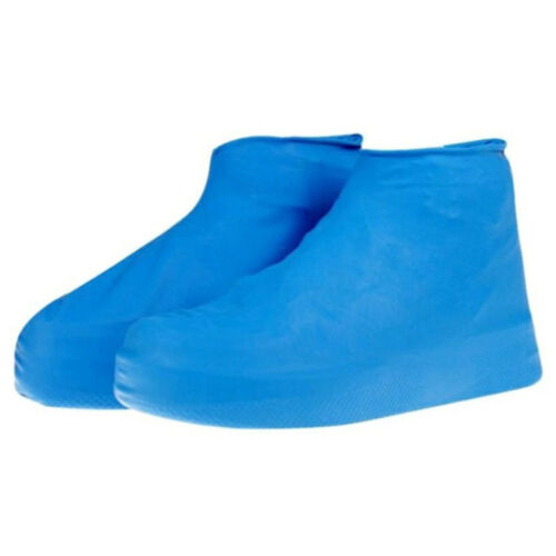 Slip-resistant Disposable Reusable Elastic Latex Rain Shoes Covers Protector one