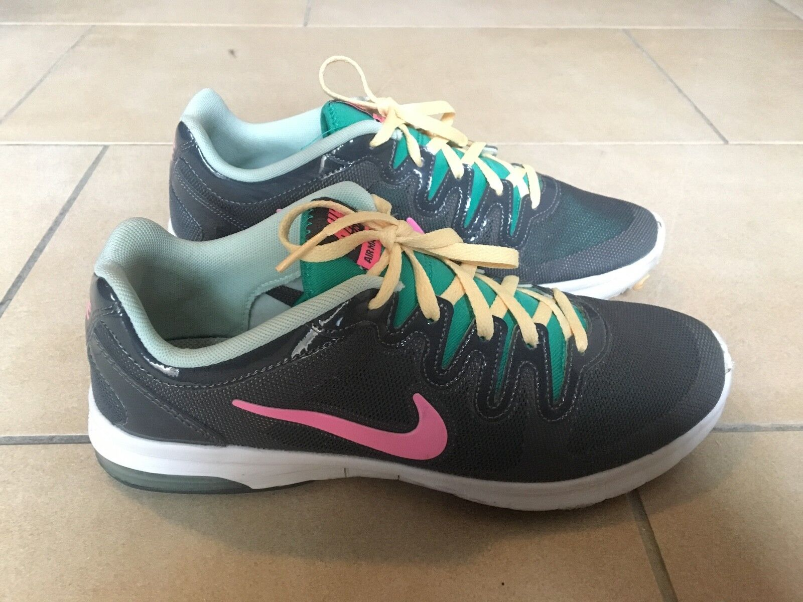 NIKE TRAINING AIR MAX FUSION SHOES SCARPA SNEAKERS DONNA tg 41 eur / 9.5 usa / 7