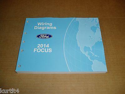 2014 Ford Focus WIRING DIAGRAM service shop dealer repair ...