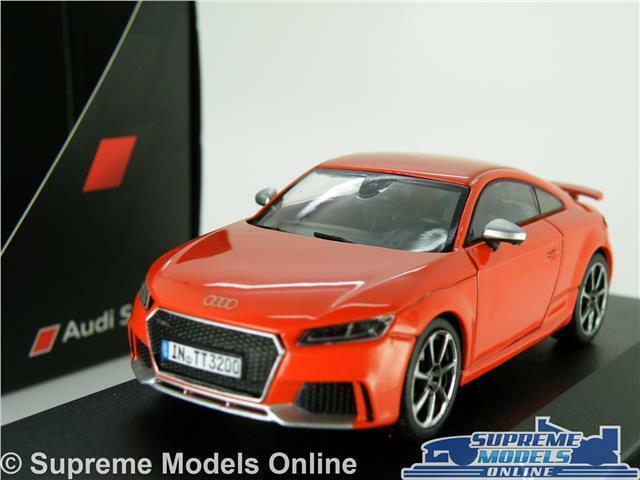 AUDI TT RS RS RS COUPE coche modelo escala 1 43 Rojo Deportes Schuco Distribuidor especial K8 7a965b