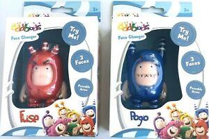 oddbods face changer pogo and fuse set of 2 figures toys new in box   ebay  ebay