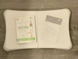 Nintendo Wii Fit and Balance Board Bundle ~ RVL-021 ~ Tested & Working FR SHIP