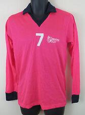 Florentina Pink Retro Football Shirt Soccer Jersey Maglia Vintage 4 M Medium