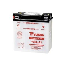 YUASA MOTORRAD-BATTERIE YB9L-A2 YB 9L-A2 NEU !!!, 12 Volt, 135 x 75 x 139 mm