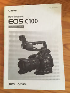 Details about Canon EOS C100 Mark I Cinema Camera manual only