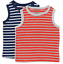 Boys-tank-top-tshirt-2-pack-age-2-3-4-5-6-7-y-Mini-Boden-quality-striped thumbnail 6