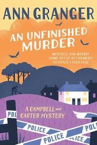 Ann-Granger-An-Unfinished-Murder-Tout-Neuf-Livraison-Gratuite-Ru