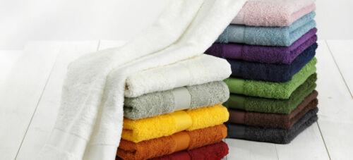 Cotonea Bio Frottier Handtuch Serie verschiedene Farben 580g//m²
