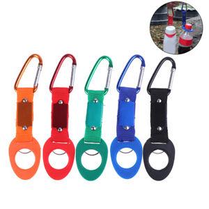 Buckle Hook Water Bottle Holder Clip Climb Carabiner Belt Backpack Hanger Cam-JT