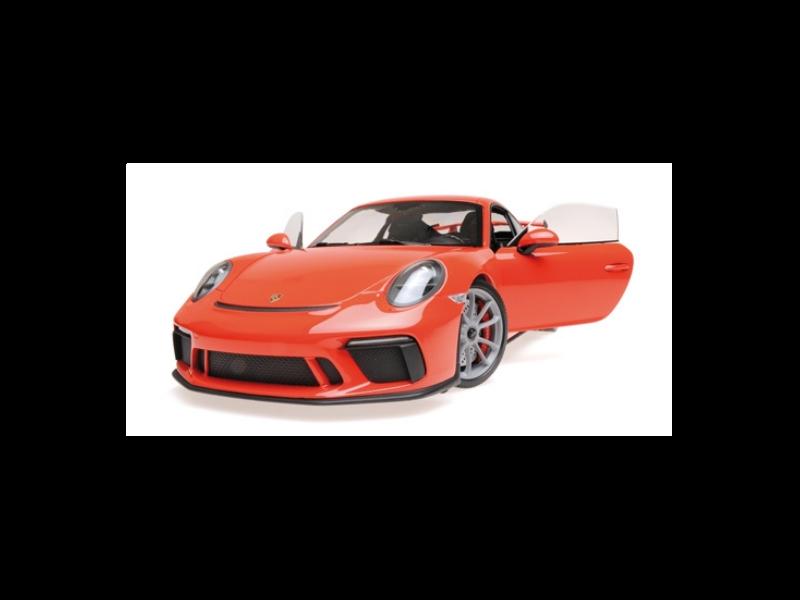 MINICHAMPS PORSCHE 911 GT3 2017 ARANCIO MODELLINO
