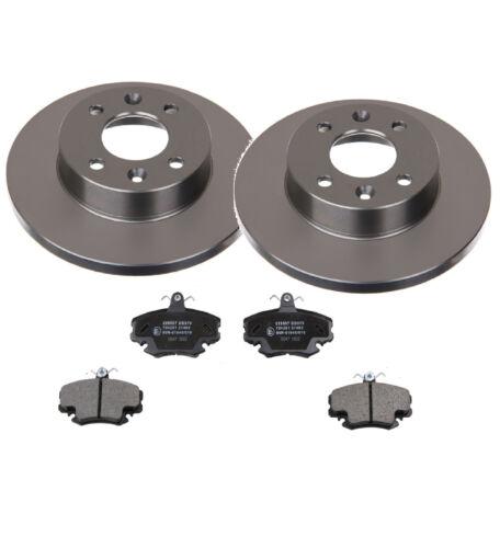 RENAULT CLIO 1 et 2 disques de frein Freins Plaquettes de freins avant la Construction