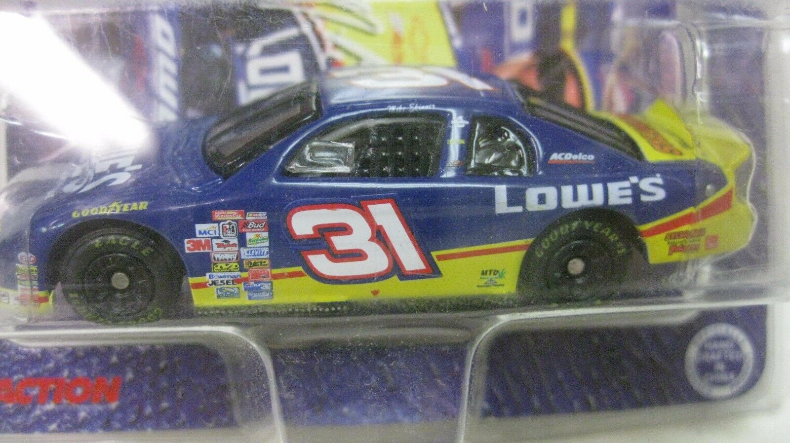 Rare Nascar Mike Skinner Autographed LE Chevy 1 64 64 64 Diecast 1999 NEW dc1452 cffbee