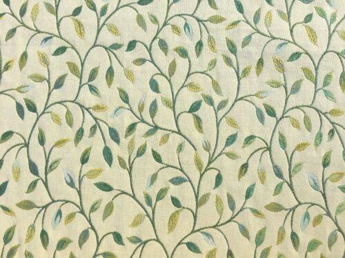 En Stock Vente-Nouveau Voyage Cervino//HIVER broderie florale rideau tissu