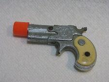 "Vintage Nichols TOY CAP GUN Dyna- Mite Derringer Diecast Texas USA 3"" LONG"