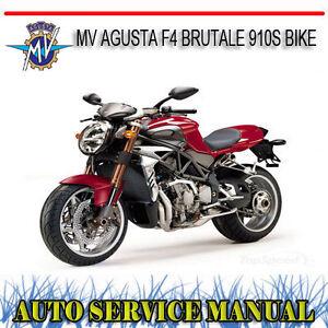 mv agusta f4 brutale 910s bike repair service manual